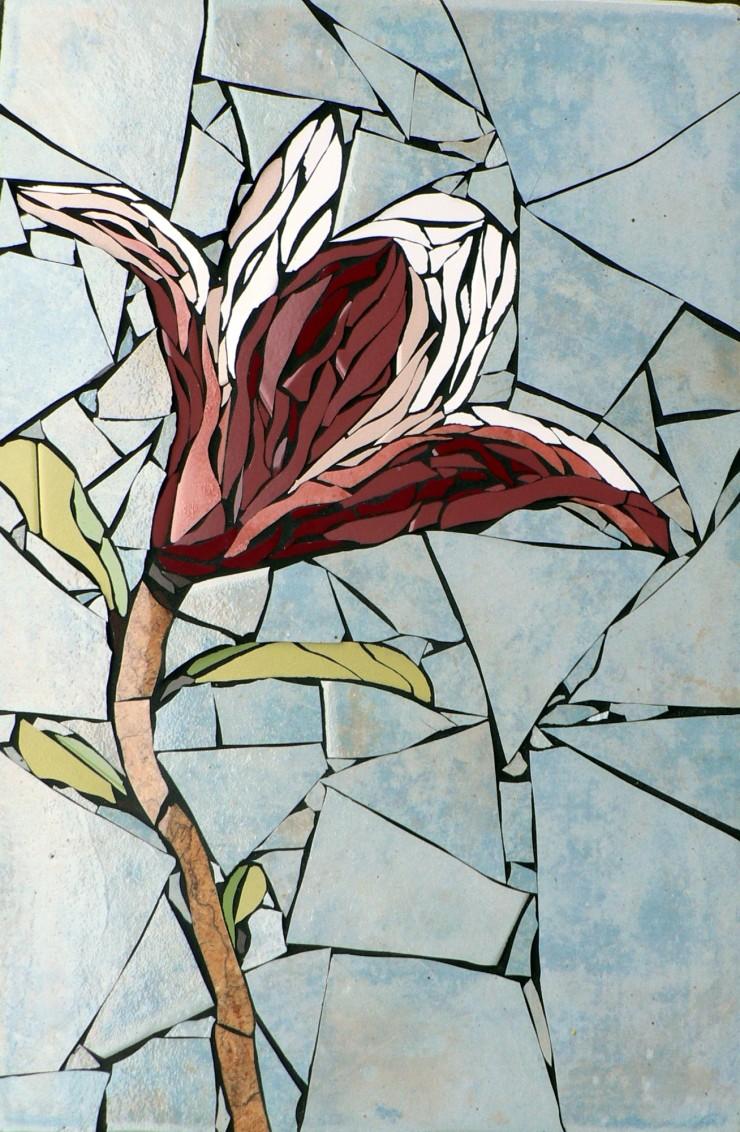 Mosaics flower